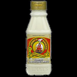 Jimmy's Garlic Flavoured Mayo - 375ml