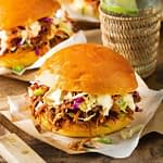 Build-A-Meal: Pulled Pork Burgers for 4