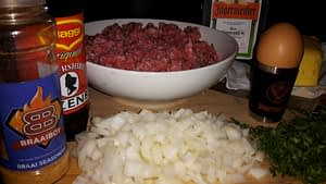 JagerBurger - Jagermeister Burger Ingredients