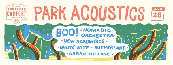 Park Acoustics August Banner