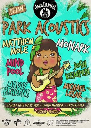 Park Acoustics January Flyer