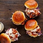 Build-A-Meal: Smoked Chicken Burgers for 4