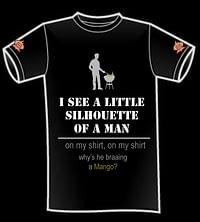 braai a mango t-shirt