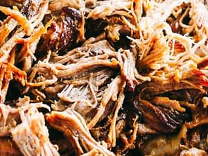 Pulled Pork Close Up