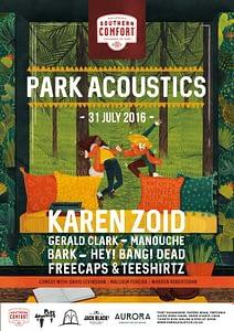 Park Acoustics – Score free tickets & chow